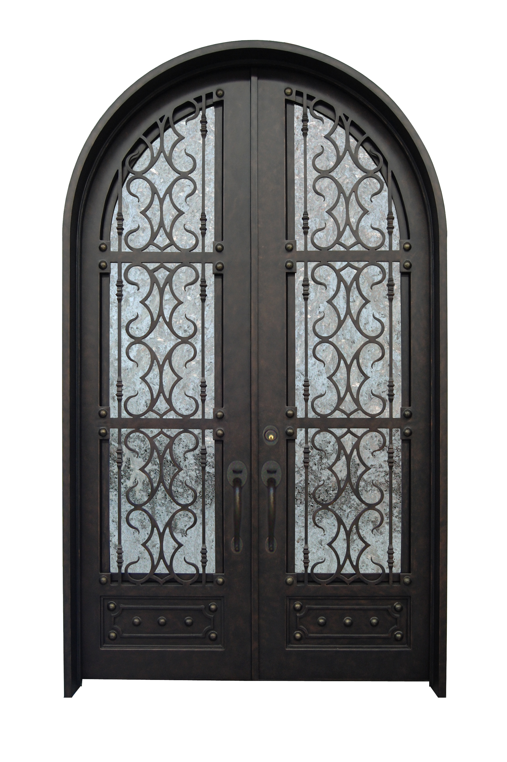 Double Arch Doors  sc 1 st  Supreme Iron Doors & Double Arch Doors u2013 Supreme Iron Doors